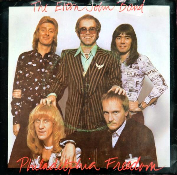 Philadelphia Freedom 45 rpm single