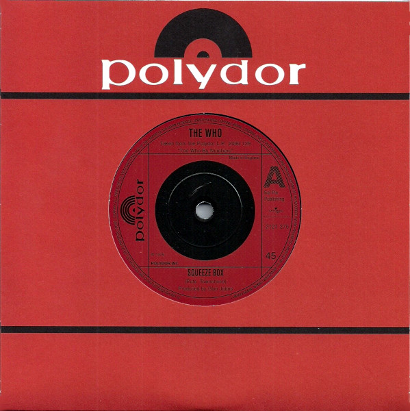 Squeeze Box 45 rpm single
