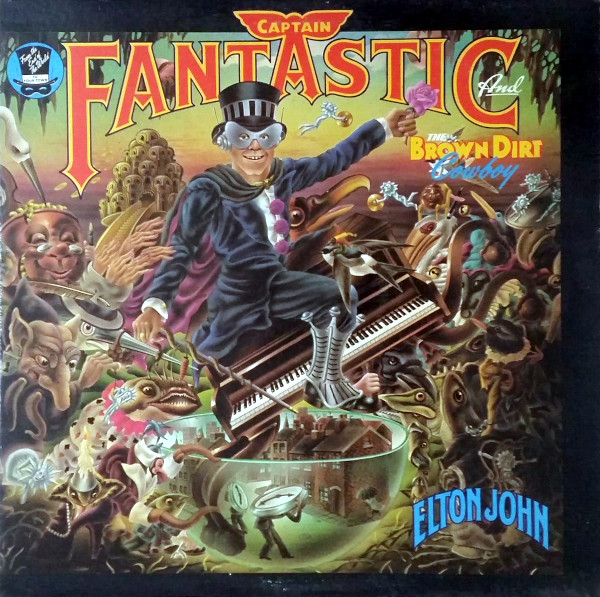 Captain Fantastic and The Brown Dirt Cowboy album cover