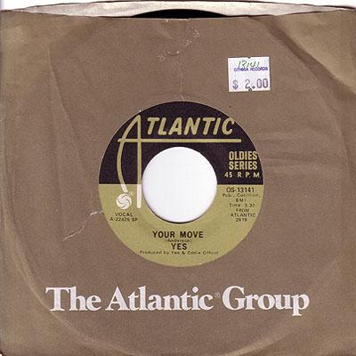 Your Move 45 rpm single