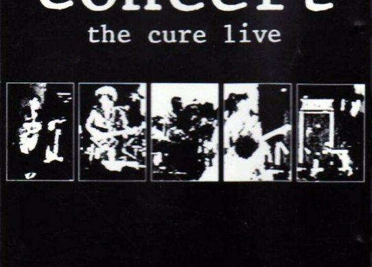 Concert: The Cure Live album cover