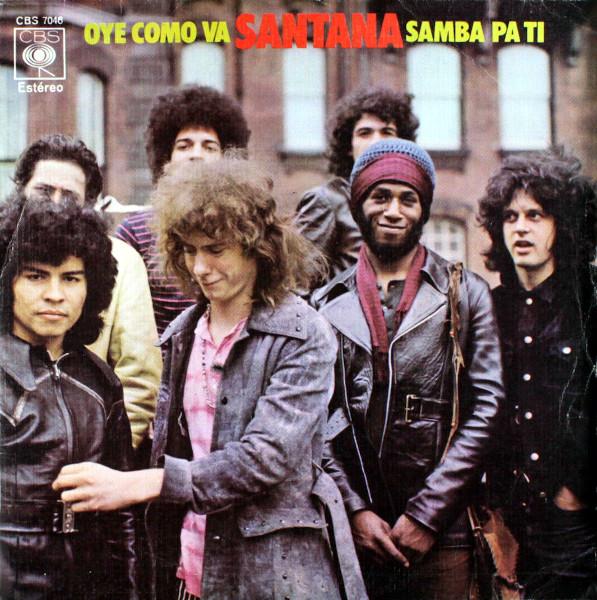 Oye Como Va 45 rpm single