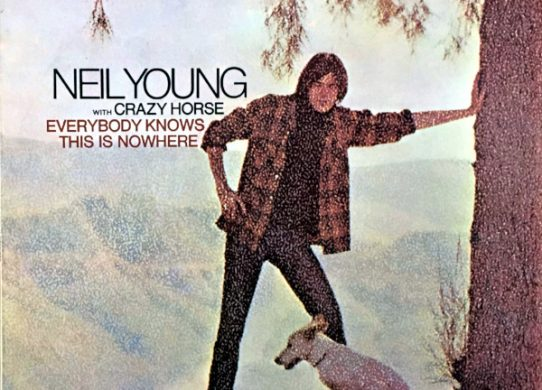 Everybody Knows This Is Nowhere album cover