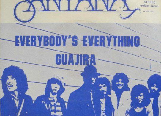 Everybody's Everything 45 rpm sleeve