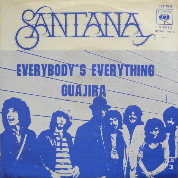 Everybody's Everything 45 rpm sleeve