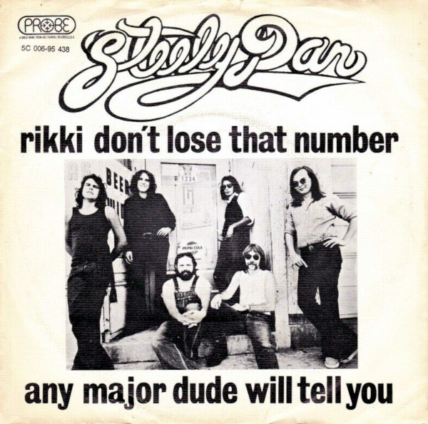 Rikki Don't Lose That Number 45 rpm sleeve