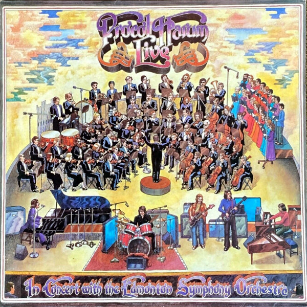 Live in Concert with The Edmonton Symphony Orchestra album cover