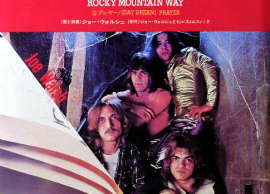Rocky Mountain Way 45 rpm sleeve