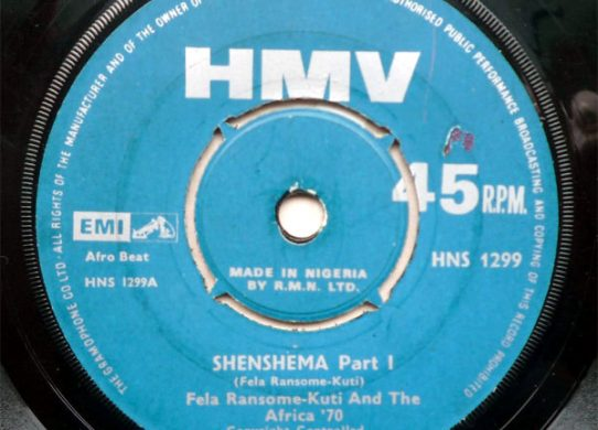 Shenshema 45 rpm single