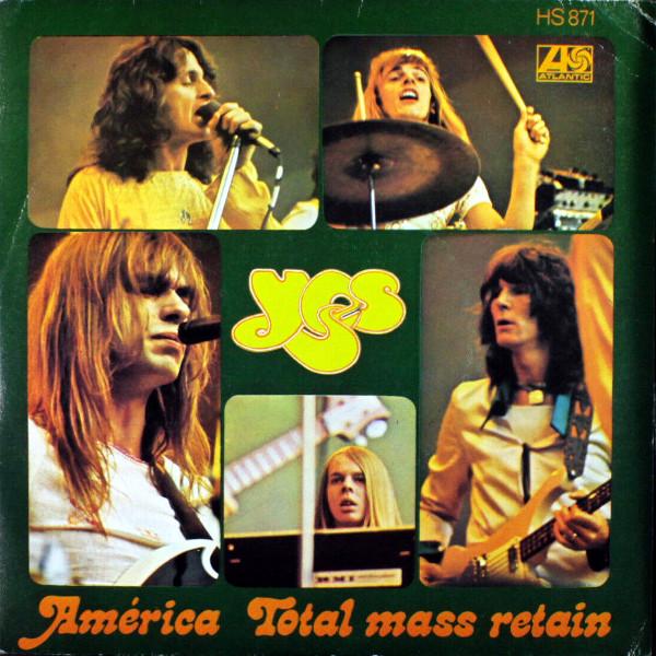 America 45 rpm sleeve