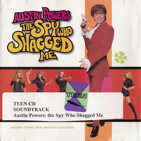 Austin Powers The Spy Who Shagged Me: Music from the Motion Picture album cover