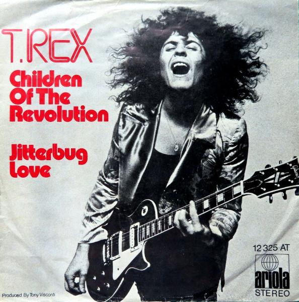 Children of the Revolution 45 rpm sleeve