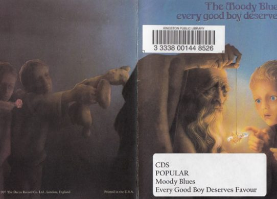 Every Good Boy Deserves Favour album cover