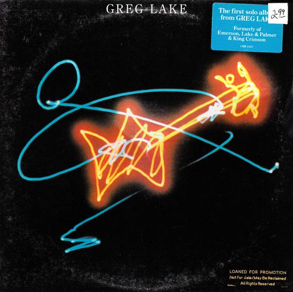 Greg Lake album cover