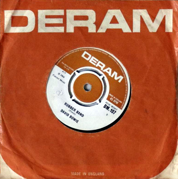 Rubber Band 45 rpm sleeve