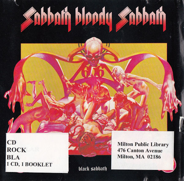 Sabbath Bloody Sabbath album cover