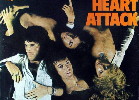 Sheer Heart Attack album cover