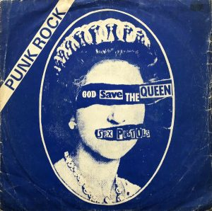 God Save the Queen turkey 45 rpm sleeve
