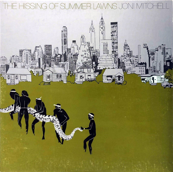 The Hissing of Summer Lawns album cover