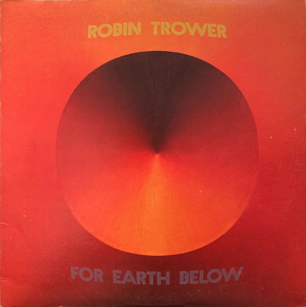For Earth Below album cover