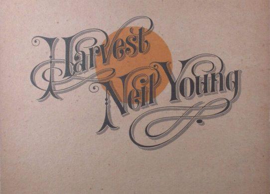 Harvest album cover