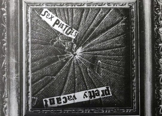 Pretty Vacant 45 rpm sleeve