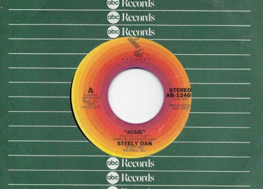 Josie 45 rpm sleeve