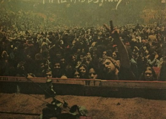 Time Fades Away album cover
