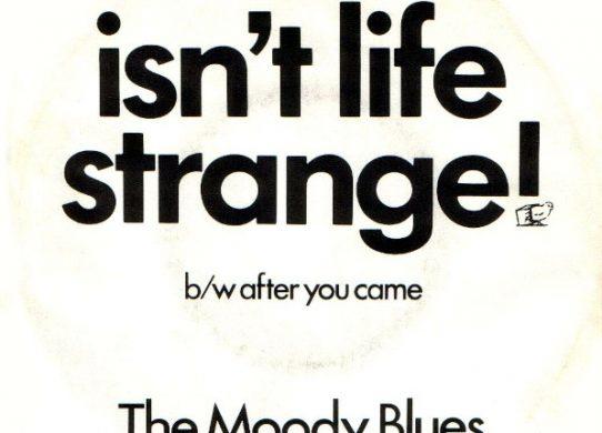 Isn't Life Strange 45 rpm sleeve