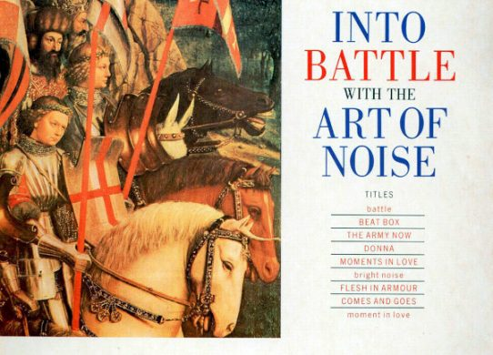 Into Battle with the Art of Noise album cover