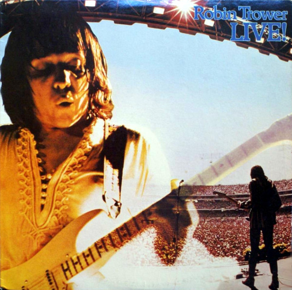 Robin Trower Live! album cover
