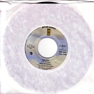 Coyote 45 rpm record