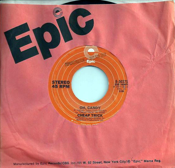 Oh, Candy 45 rpm sleeve