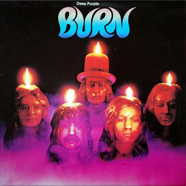 Burn album cover