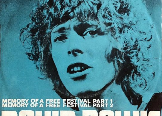 Memory of a Free Festival 45 rpm sleeve