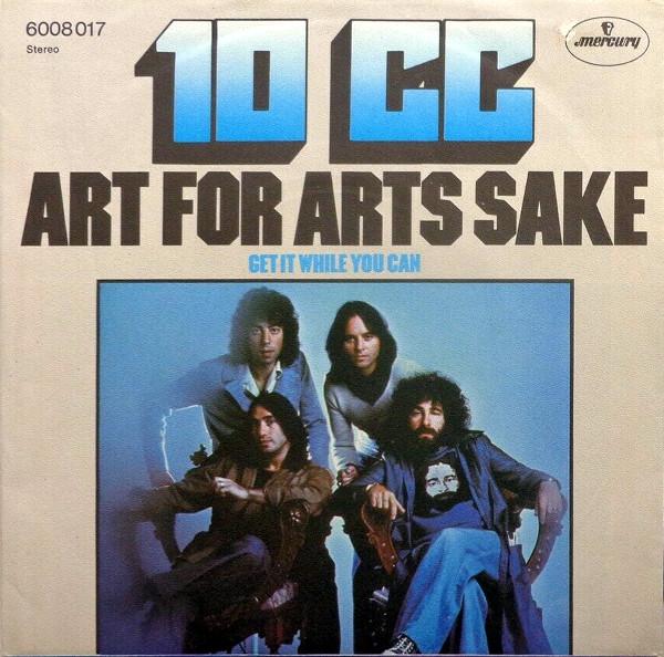 Art for Art's Sake 45 rpm sleeve